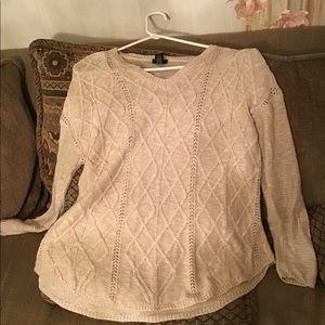 Rue 21 women xLarge beige Sweater
